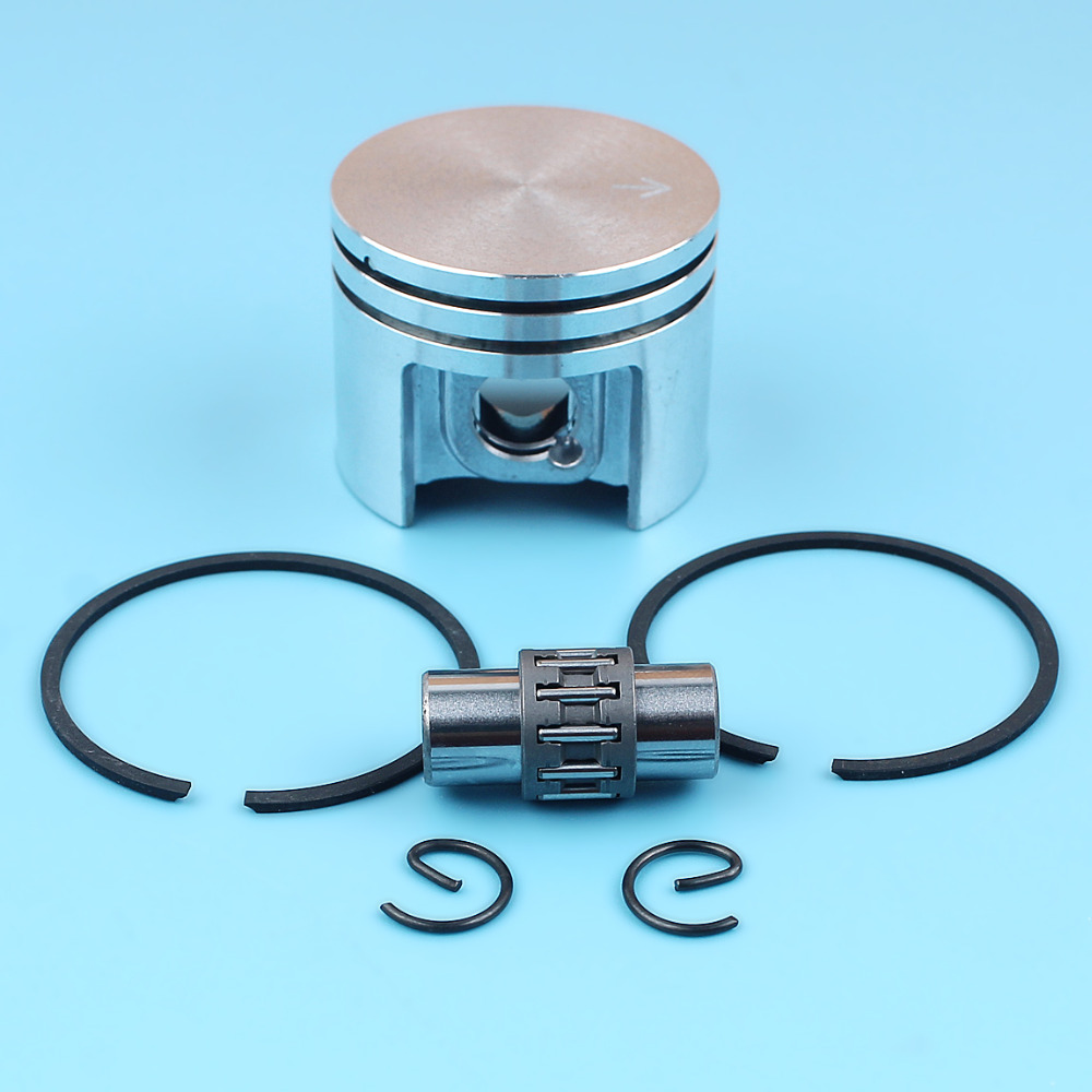 38mm Piston Rings 10mm Pin Needle Bearing Kit For Stihl MS180 018 MS 180 Chainsaw 1130 030 2004 Replace Spare Parts