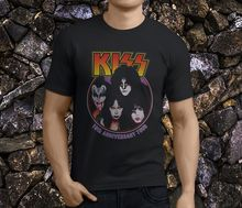 Fashion 100% Cotton T Shirt Short Funny Crew Neck Mens Kiss Creatures Of The Night MenS