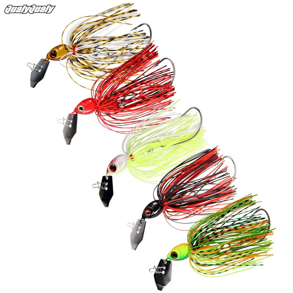 5pc//box 5.5g Fish Head Jigs Fishing Hooks Tackle Set For Soft Silicone Lure Bait