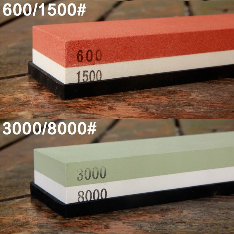 600/1500 a 3000/8000 # Profese Kuchyňské brousky na broušení brousků pro nůž Dvoustranný systém ostření nožů 2ks
