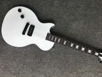 Electric guitar Gwarem lp custom guitar/left hand only one pickup white color guitar in china
