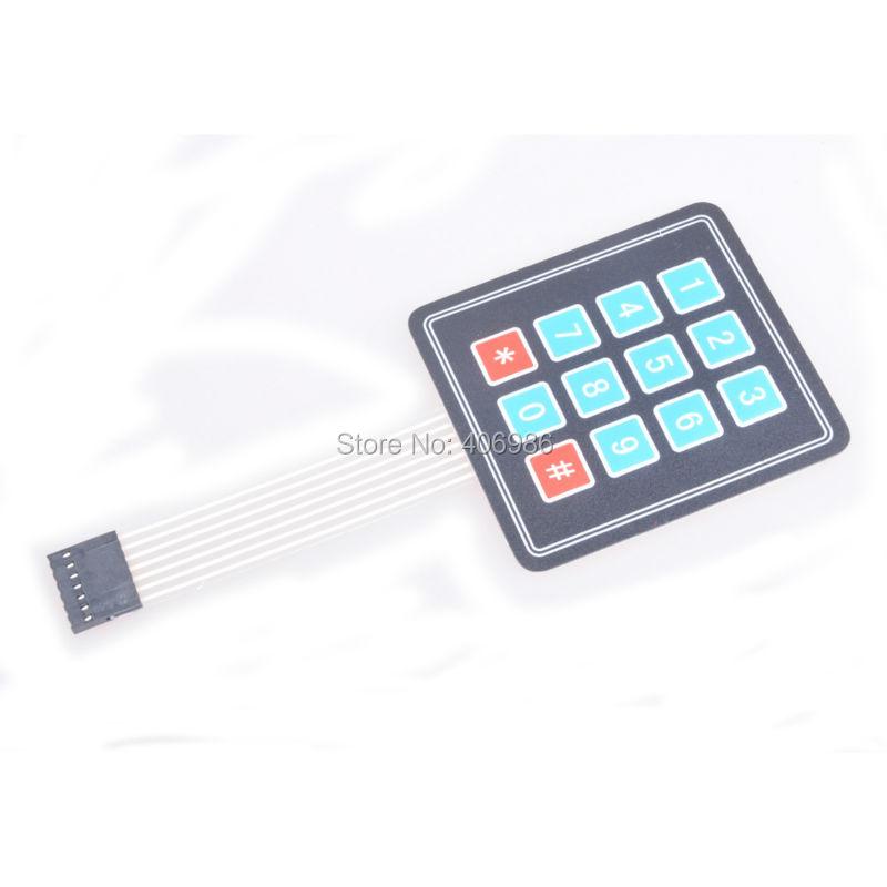 4x4 Matrix Membrane Keypad 27899 Parallax Inc
