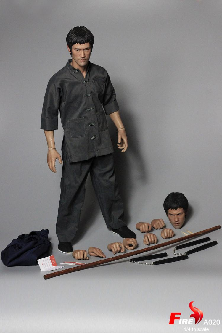 FIRE A21 1//4 Bruce Lee/'s Game of Death Dual-Head Collect Action Figure Pre Order