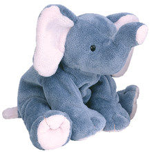 "Pyoopeo Ty Pluffies 10"" 25cm Winks the Elephant Plush Medium Soft Stuffed Animal Collectible Doll Toy with Heart Tag(China)"