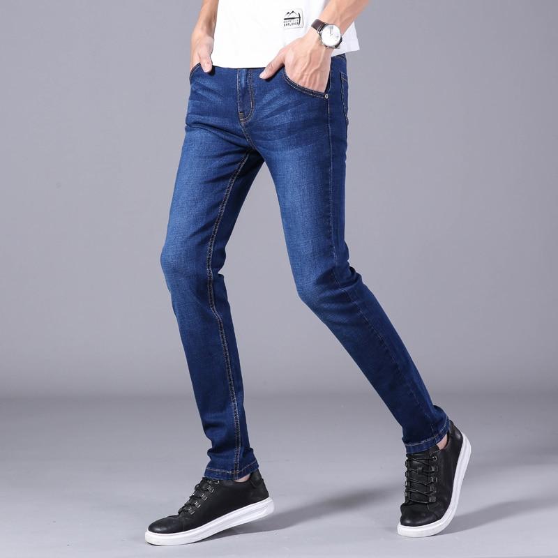 Men's jeans autumn winter new high quality cotton Slim stretch denim jeans Men's Jeans