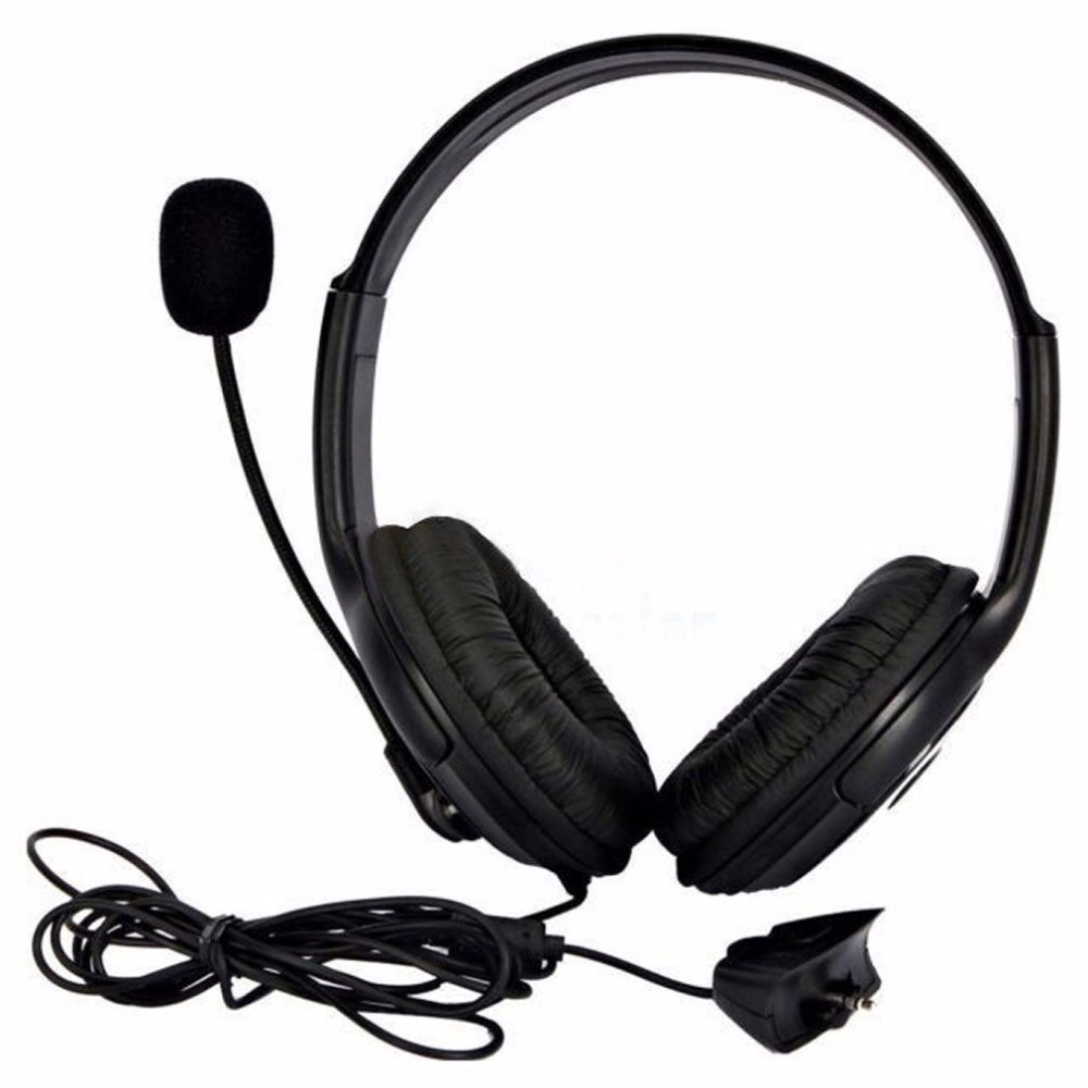 High Quality Live Big Headset Headphone With Microphone for XBOX 360 Xbox360 Slim NEW Arrival Gaming Headsets White/Black