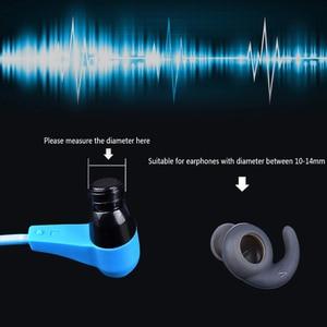 Image 3 - 3 ペア/ロットソフトシリコンイヤーパッドのイヤフォンイヤホンシリコーンケース耳フックin 耳イヤフォンイヤホンアクセサリー耳ヒント