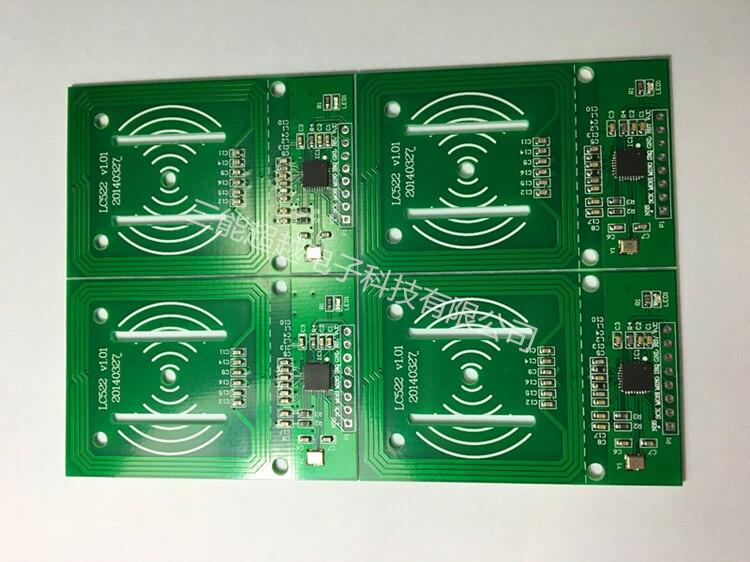 MFRC-522 RFID Radio Frequency IC Card Induction Module Reader Card RC522 Access Control Card Response Key Module