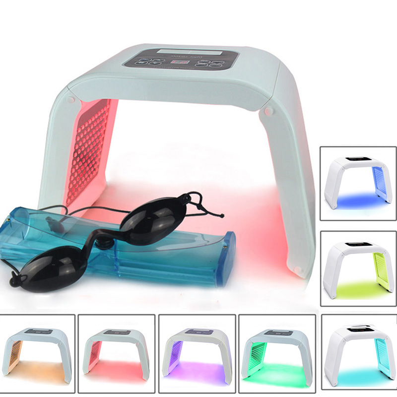7 Color PDT LED Acne Light Therapy Machine LED Facial Mask Beauty SPA Phototherapy For Skin Rejuvenation Acne Remover Treatment7 Color PDT LED Acne Light Therapy Machine LED Facial Mask Beauty SPA Phototherapy For Skin Rejuvenation Acne Remover Treatment
