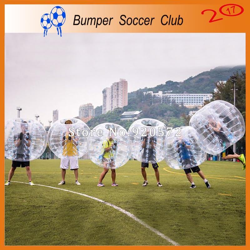 Free shipping Outdoor Games PVC Bumper Ball Inflatable Body Grass Body font b Zorb b font