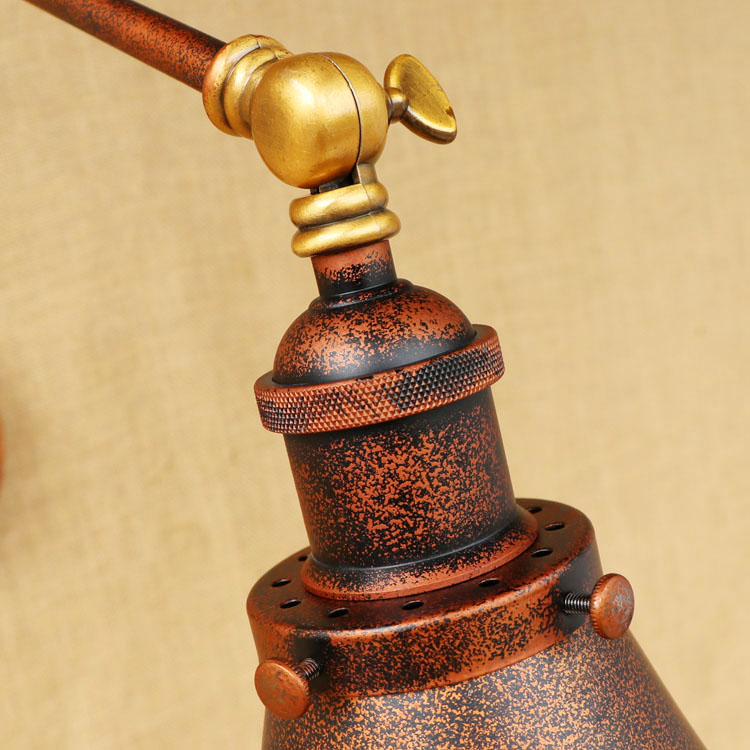 vintage led wandlamp retro luzes de parede 05