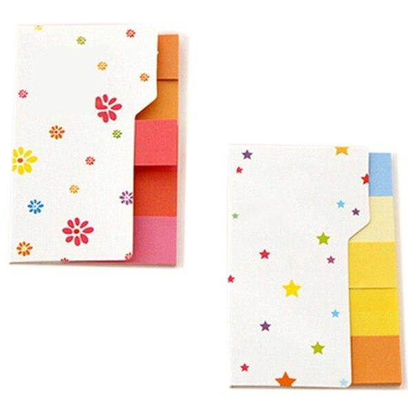 Fashion Hot Cute Post It Bookmark Marker Flags Index Tab Sticky Fresh Rainbow Mini Sticker Notes New (Size: 7.7*5cm