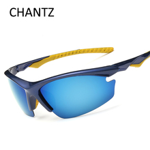 Men Sport Mirrored Polarized Sunglasses Cycling Eyewear Bicycle Glasses Bike Bicycle Riding Fishing Cycling Goggles UV400 Shades cool hollow out cycling mirrored sunglasses