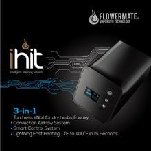 Flowermate iHit w100 3-in-1สก์ท็อปenailสมุนไพรแห้งน้ำมันขี้ผึ้งvaporizerสมุนไพรvaporizersเอชแอลจัดส่งฟรี