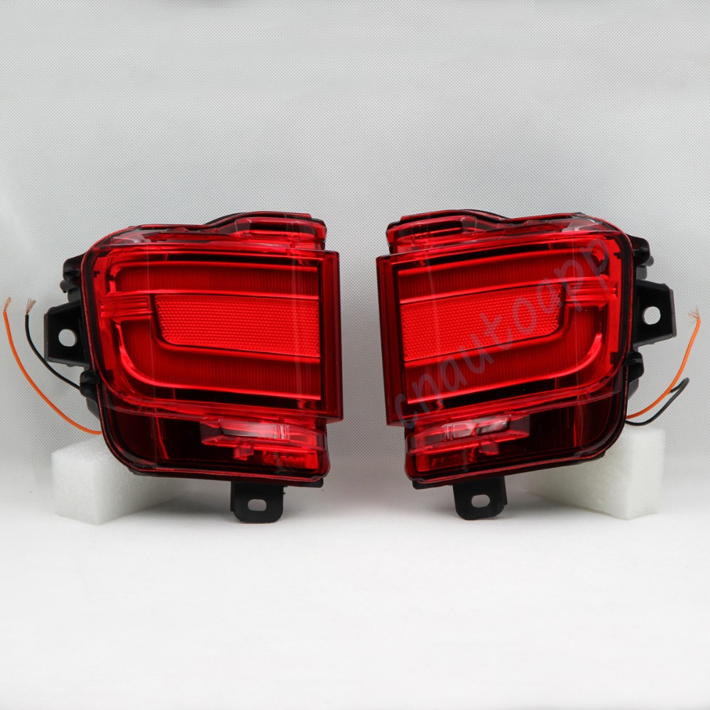 LED Rear Bumper Warning Lights Car Brake Light Running Lamp For Toyota Land Cruiser 2016 купить