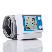 New Fully Automatic LCE Digital Wrist Blood Pressure Monitor Tonometer Health Monitors Pulse Rate Monitor Oscillometric
