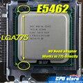 INTEL XEON E5462 2.8 ГГц/12 М/80 Вт/1600 МГц/CPU равна LGA775 Core 2 Quad Q9550 CPU, работает на LGA775 платы нет необходимости адаптер