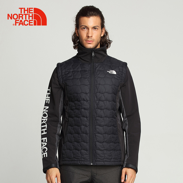 2010a4ced US $392.13 |The North Face Cotton Jacket for Men Removable Sleeves Light  Thermal Coat Outdoor Sports Comfortable Wear Resistant Clothes 3GJ6-in ...