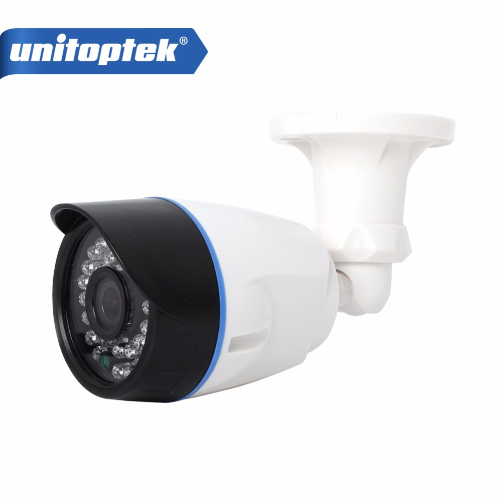 HD 720P 1.0MP Bullet IP Camera Onvif Outdoor IR Night Vision H.265 2MP 1080P CCTV Security Camera Android iPhone XMEye Unitoptek wistino cctv bullet ip camera xmeye waterproof outdoor 720p 960p 1080p home surverillance security video monitor night vision