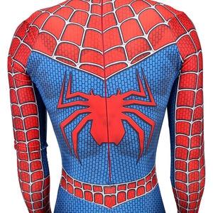 Image 5 - Disfraz clásico Remy de spiderboy para niños y adultos, licra, licra, medias de Spider Boy para Cosplay de Mascota de Halloween