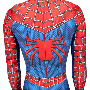 Image 5 - High quality Classic Remy spiderboy costume Kids Adult Lycra Spandex Spider Boy Tights For Halloween Mascot Cosplay