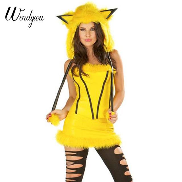 Seksikas karnevali kostüüm