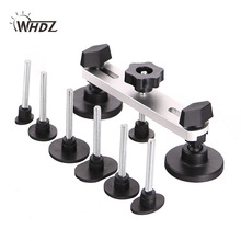 WHDZ PDR Paintless Dent Repair Tools New Design Pulling Bridge 7 PCS Mats Threaded Rod Removal Hand Tool Set kit