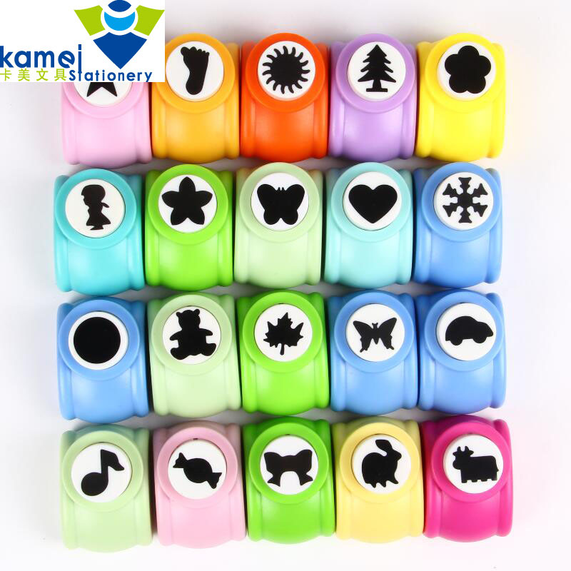 2.5cm DIY Paper Printing Card Cutter Scrapbook Shaper large Embossing device Hole Punch Handmade decoration Craft gift YH13