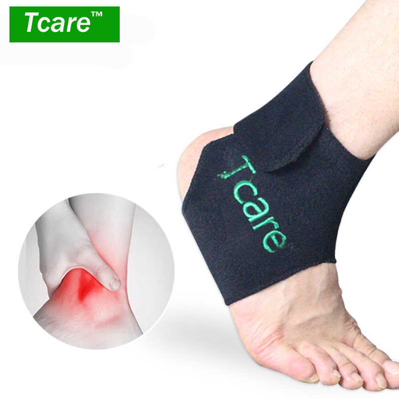 * Tcare 1Pair Tourmaline Self-heating Ankle Support Magnetic Therapy Support Tourmaline Ankle Belt Foot Massager Health Care