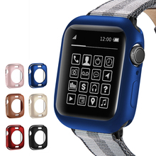 for apple watch series 5 4 3 2 1 case for iwatch bumper TPU Matte skin Feel protector 38 42 40 44mm Ultra-thin frame soft shell uebn fall resistance soft silicone case for apple watch iwatch series 4 3 2 1 cover frame full protection 38 42 40 44mm case