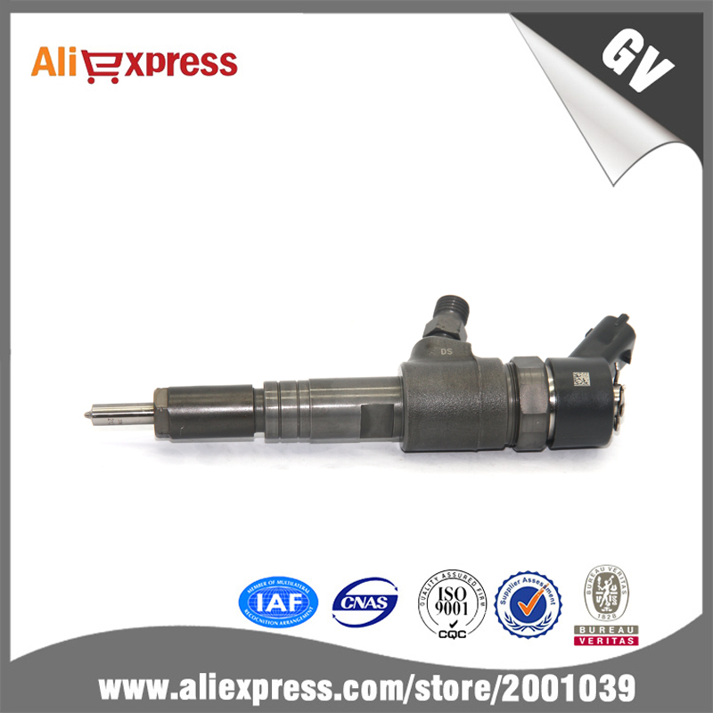 Diesel engine 4cyl._3.7L fuel injector 0445110345, common rail injector 0445 110 345 for Bosch, diesel engine parts