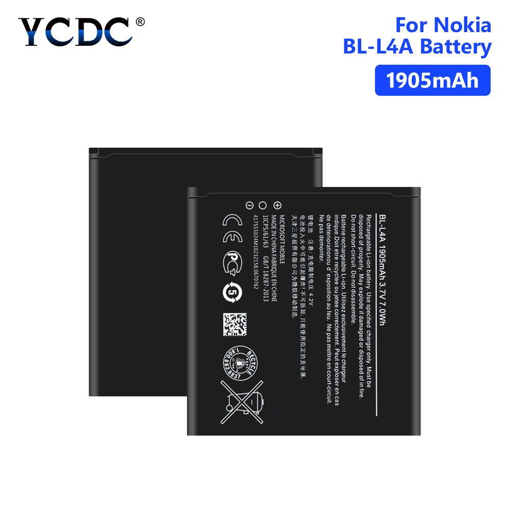 Bl-L4a-Battery Phone Microsoft RM-1090 Nokia Lumia For Nokia/Lumia/535/.. 1905mah