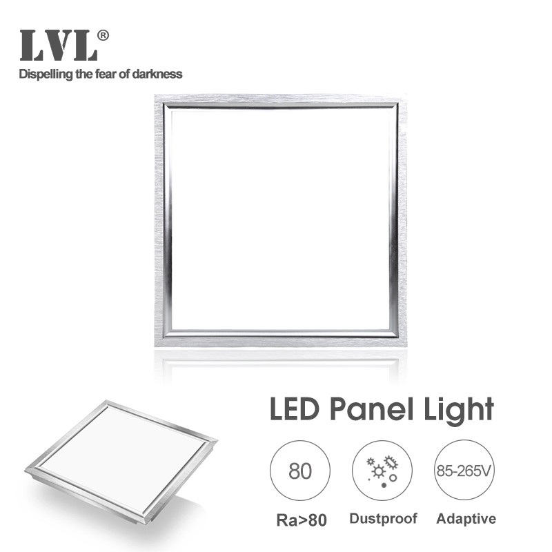 Flat Square 13W LED Panel Light 30*30cm 6000K 4000K 85-265Vac waterproof driver Ceiling Lamp for the Kitchen and Bathroom