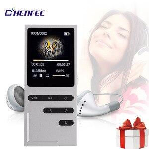 Image 2 - CHENFEC C18 الأصلي مشغل Mp3 16 جيجابايت المتكلم MP3 مشغل موسيقى الرياضة 1.8 بوصة شاشة عالية الجودة ضياع مسجل صوتي FM MP3