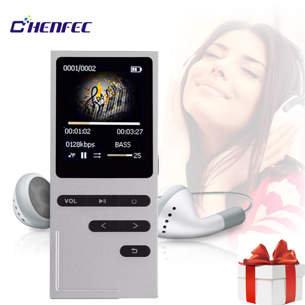 CHENFEC C18 Original Mp3 Player 16GB Speaker MP3 Music Player Sports 1.8 Inch Screen High Quality Voice Recorder Voice Lossless MP3