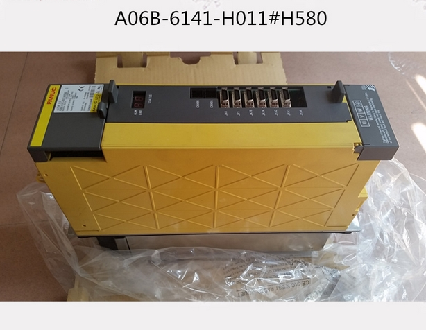 Electronics Production Machinery Symbol Of The Brand Used 100% Tested A06b-6141-h011#580 Fanuc Servo Amplifier A06b-6141-h011 A06b-6141-h011#580 New Varieties Are Introduced One After Another