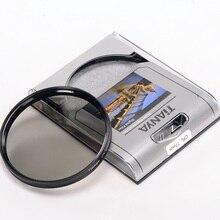 Tianya 37 40.5 43 46 49 52 55 58 62 67 72 77 82 мм Циркулярный поляризационный CPL оптическое стекло фильтр объектива Protector DSLR камеры
