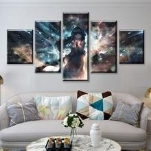 HD Print 5 Piece Anime Canvas Art Poster Original Cartoon Paintings On Wall For Home Decorations Decor Framework