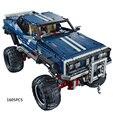 Technics 4x4 crawler lepin exclusiva edición jeep building block rc cars vehículo utilitario deportivo modelo compatible legoe 41999 juguetes