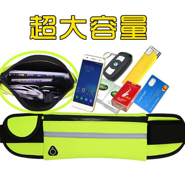 Лидер продаж Anti-Theft тонкий Бег тренажерный зал сотовый телефон грудь талия Фанни Сумка спортивная Бег сумка для Samsung Galaxy note8