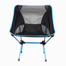 105kg 220lb Load Bearing Fishing Chair Ultralight Folding Backrest Chair Seat Stool Portable Camping Hiking Beach Chair + Bag