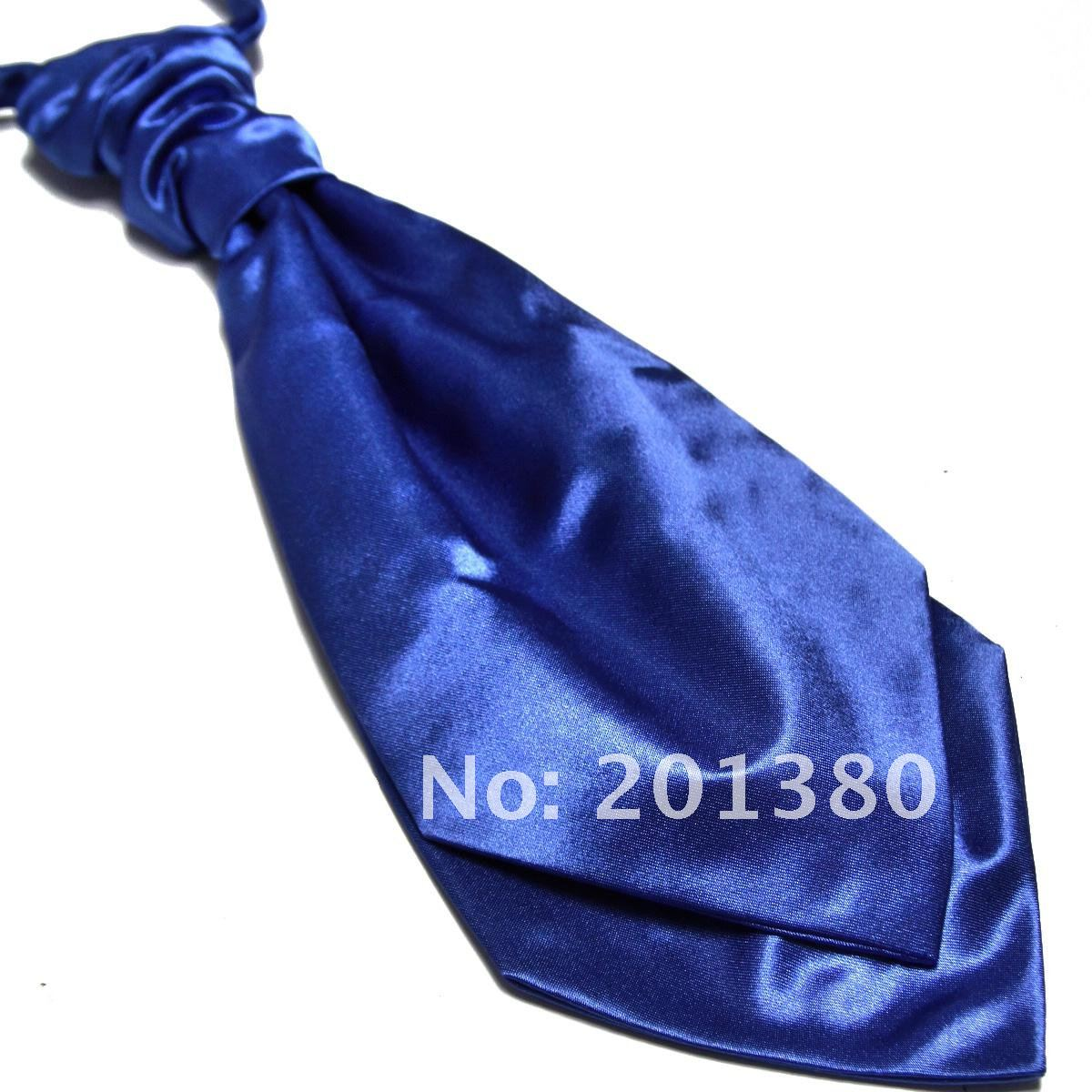2019 Ties For Men Cravat Solid Color Necktie Ascot Wedding Copy Silk Solid Color Fashion Polyester Gravata Tie