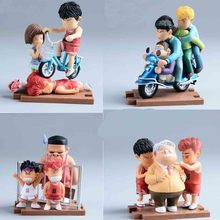 Anime Cartoon Slam Dunk Sakuragi Hanamichi Rukawa Kaede Pvc Action Figures Collectible Brinquedos Model Toys