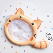 1 Pc Cartoon Animals Cats Fishing Net Children Kids Bathing Swimming Entertainment Interactive Funny Games Birthday Gifts Toys