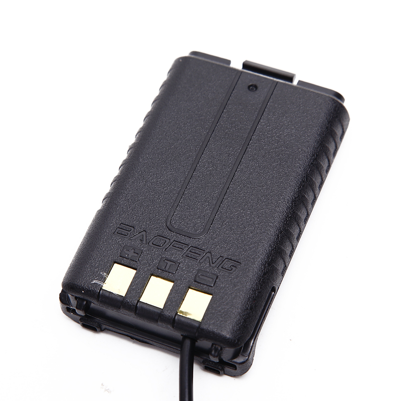 Image 2 - 2Pcs Baofeng UV 5R Battery Eliminator Car Charger UV 5R Portable Radio for baofeng UV 5RA 5RE-in Walkie Talkie from Cellphones & Telecommunications