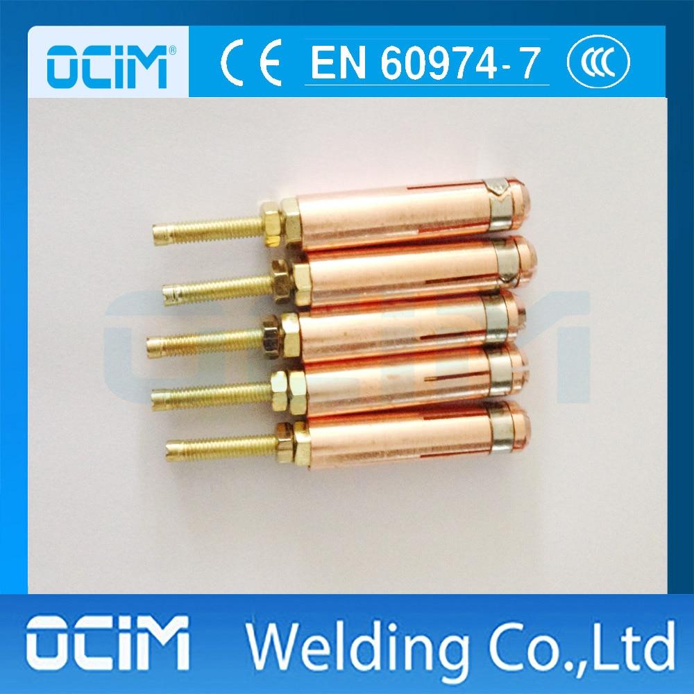Warnen 10 StÜcke M3 M4 M5 M6 M8 Stud Magnetspannplatte Schweißbrenner Teile Elegante Form Schweißbrenner