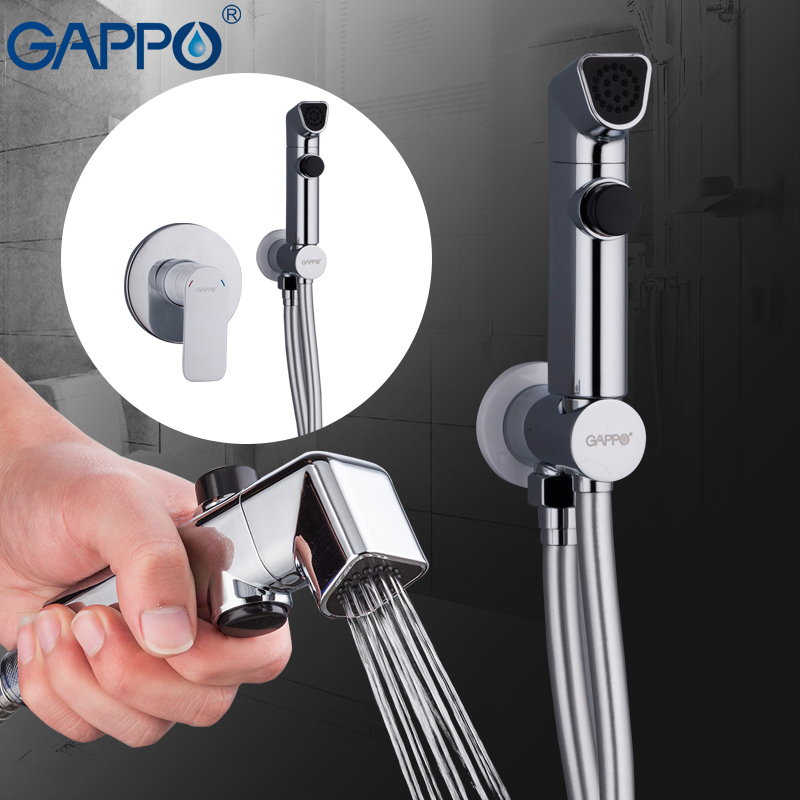 GAPPO White Bidets bathroom toilet muslim shower bidet tap hygienic shower wall mount shattafs faucets gappo bidet faucets muslim shower toilet bidets sprayer hygienic shower wall mount washer mixer tap