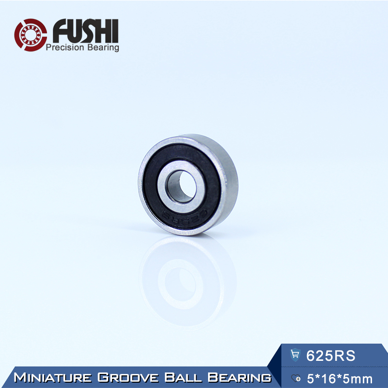 625RS Bearing ABEC-5 (10PCS) 5*16*5 mm Miniature Sealed 625-2RS Ball Bearings 625 2RS super mini universal qi standard wireless charger charging plate hyacinth