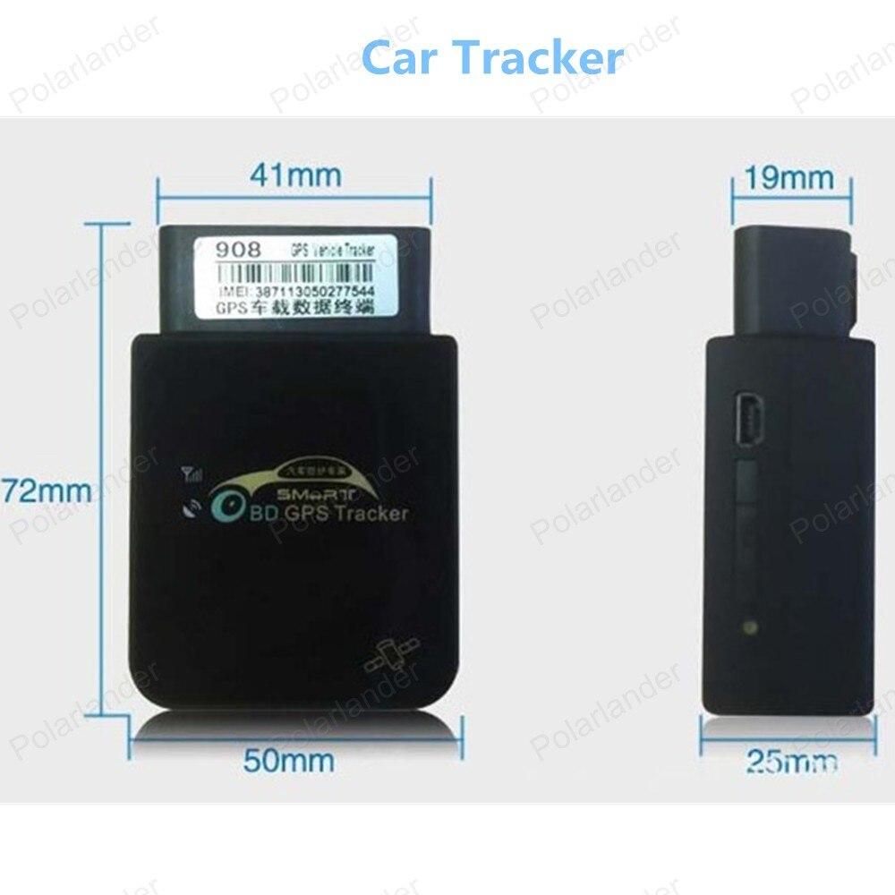Новое поступление автомобиля GPS Tracker 908 БД в реальном времени отслеживать Google Map ссылка Бесплатная доставка