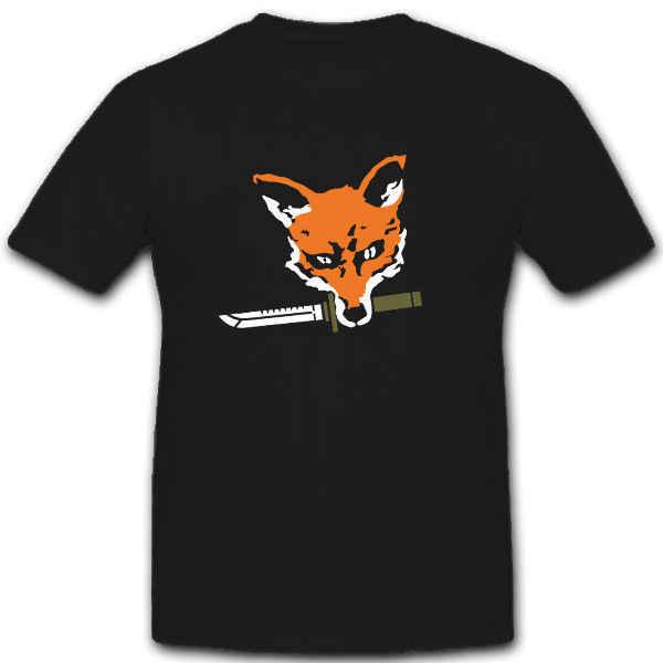 Fox Faca de Combate Kampfmesser Fuchs Spezial BW-T Camisa Militar Do Exército DOS EUA